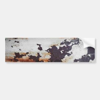 Pintura oxidada da casca do metal adesivos