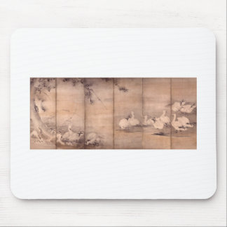 Pintura por Miyamoto Musashi, C. 1600's Mouse Pad