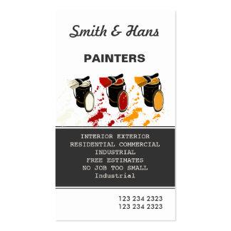 Pintura profissional do pintor de casa cartão de visita