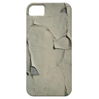 Pintura rachada suja da casca capa barely there para iPhone 5