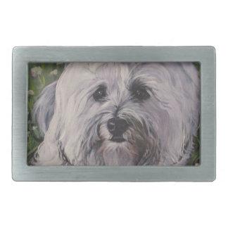 Pintura realística bonita da arte do cão de