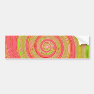 Pintura recreada da rotação adesivo para carro