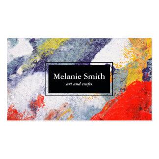 Pinturas Cartão De Visita