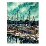 pinturas da arte da navigação do marinheiro dos ve cartao postal