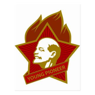 Pioneiro dos jovens de Rússia CCCP URSS Cartão Postal