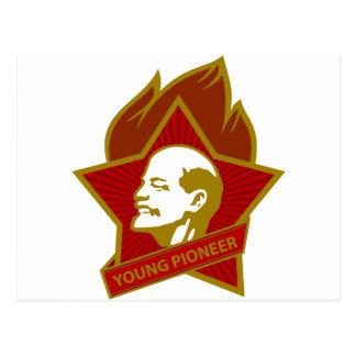 Pioneiro dos jovens de Rússia CCCP URSS Cartoes Postais
