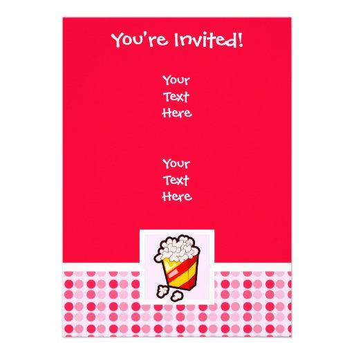 Pipoca bonito convites personalizados