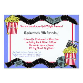Pipoca e um filme convite