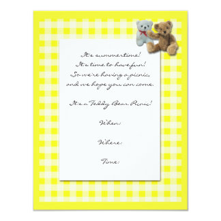 Piquenique do urso de ursinho com Tablecloth