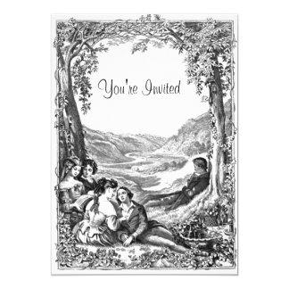 Piquenique do Victorian Convites Personalizado
