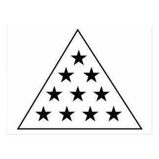 Pirâmide B do Pi do Sigma+W Cartão Postal