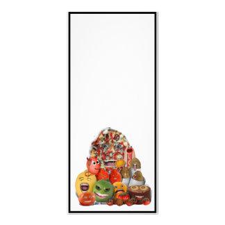 Pirâmide de comida lixo Freaky 10.16 X 22.86cm Panfleto