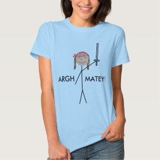 pirata, ARGH, AMIGO! Tshirt