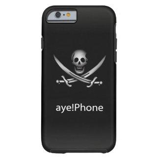 Pirata aye! Telefone Capa Tough Para iPhone 6