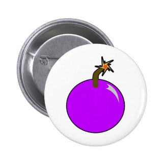 Pirata da bola de canhão da bomba do tiro redondo  pins