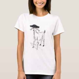 Pirata da cabra camiseta