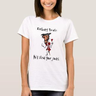 Pirata da entalpia camiseta
