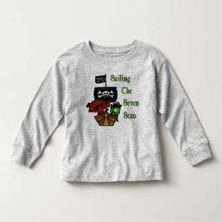 Pirata de sete mares camiseta infantil