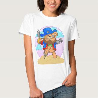 pirata do urso de ursinho tshirt