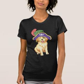 Pirata dourado camiseta