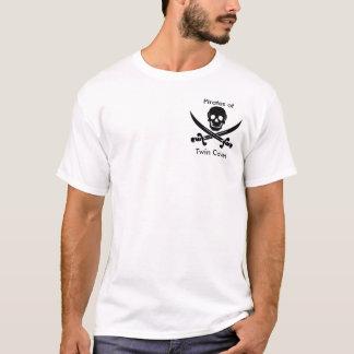 Piratas das angras gêmeas T Camiseta
