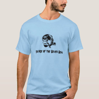Piratas: Sourge dos sete mares Camiseta