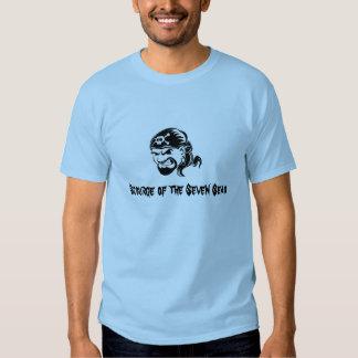 Piratas: Sourge dos sete mares Tshirt