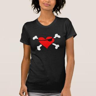 Pirate Heart Camisetas