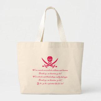 PirateLife, saco Bolsa De Lona