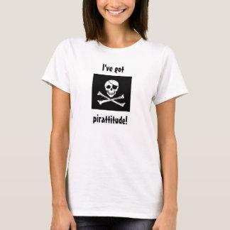 pirattitude! camiseta