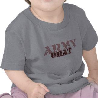Pirralho cor-de-rosa do exército tshirt