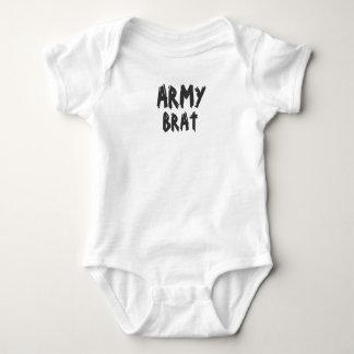 Pirralho do exército camisetas