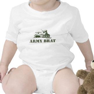 Pirralho do exército t-shirts
