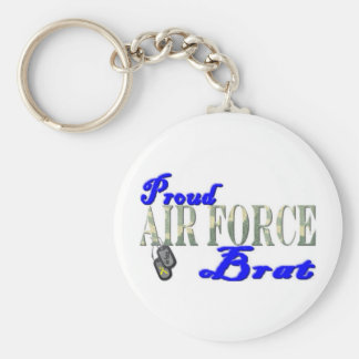Pirralho orgulhoso da força aérea chaveiro