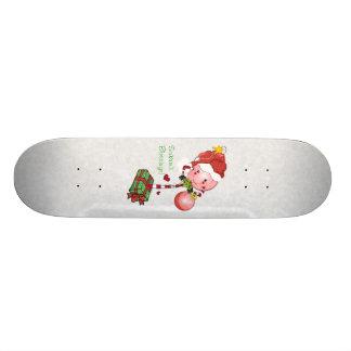 Pirulito do Natal Shape De Skate 18,7cm