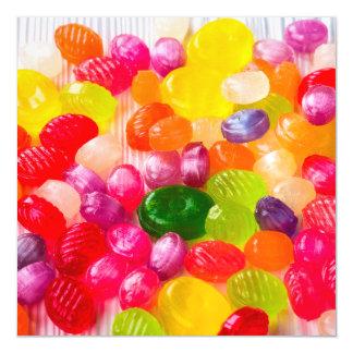 Pirulito doce colorido da comida dos doces