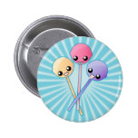Pirulitos bonitos feitos sob encomenda botons