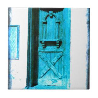 PISCINA azul rústica tradicional de Santorini da