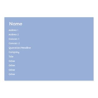 Piscina - carnudo cartão de visita grande