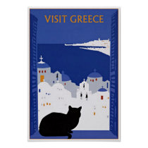 Piscina da visita, poster das viagens vintage de