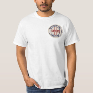 Piscina do litoral do vintage - roupa do Lifeguard Camiseta