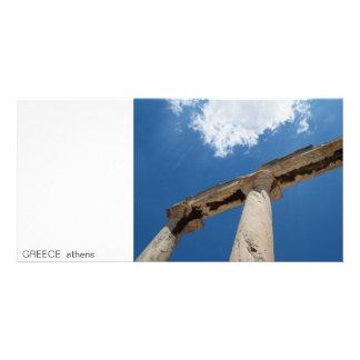 PISCINA mim Atenas Cartao Com Fotos Personalizado