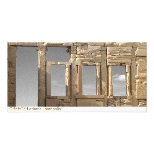 PISCINA mim Atenas mim acrópole Cartões Com Foto