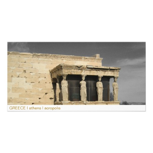 PISCINA mim Atenas mim acrópole Cartão Com Fotos