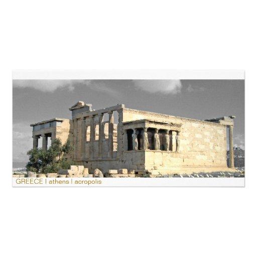 PISCINA mim Atenas mim acrópole Cartao Com Foto