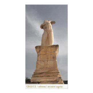 PISCINA mim Atenas mim ágora antiga Cartão Com Foto