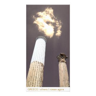 PISCINA mim Atenas mim ágora romana Cartões Com Fotos