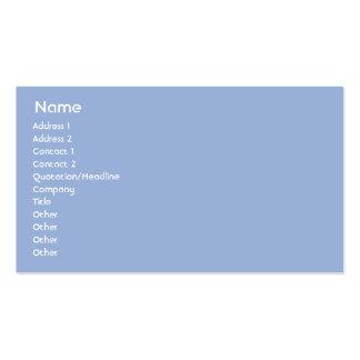 Piscina - negócio modelo cartão de visita