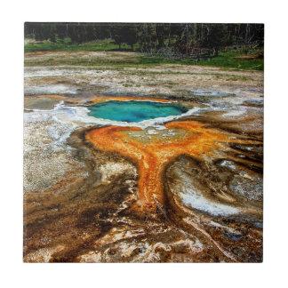 Piscina térmica de Yellowstone