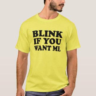 Pisque se você me quer pegara a camisa de T
